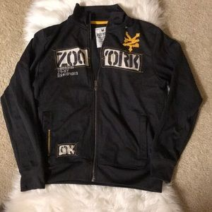 Zoo York brown bomber jacket